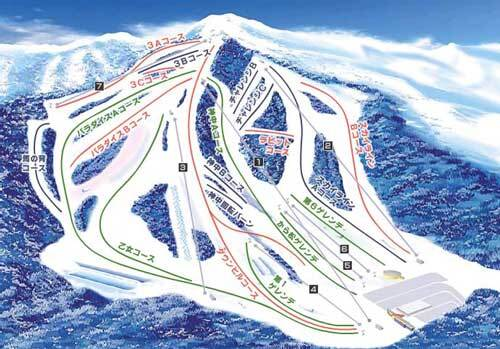 Dynaland Piste / Trail Map