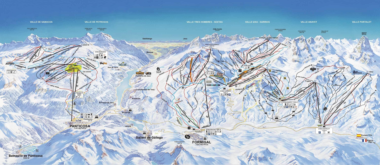 Formigal informaci n del ski resort condiciones de nieve for Jardin de nieve formigal