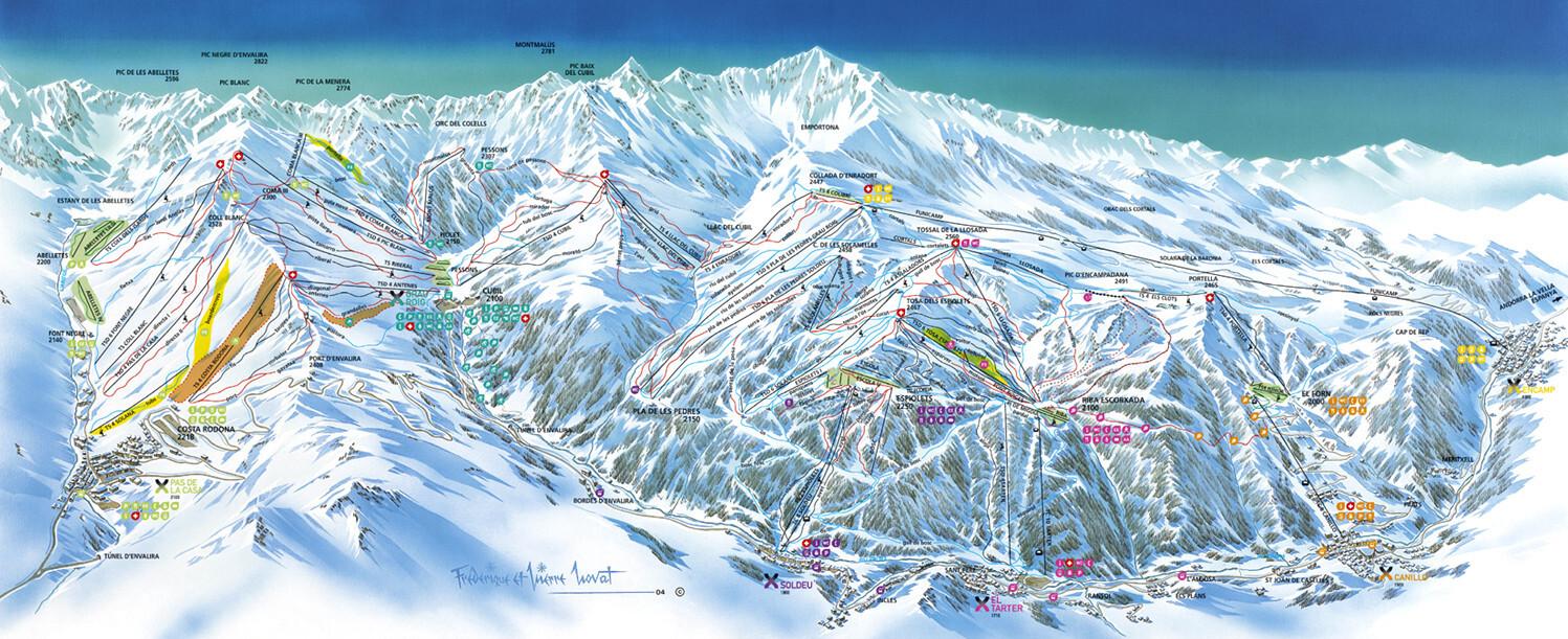 Grandvalira el tarter informaci n del ski resort condiciones de nieve grandvalira el tarter - Oficina turismo andorra ...