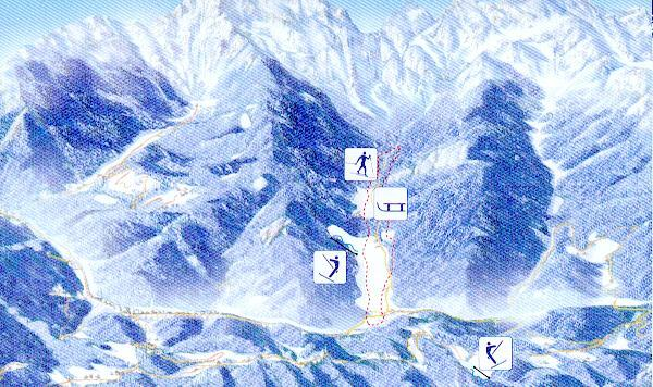 Logarska Dolina Piste / Trail Map