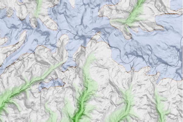 Breuil-Cervinia Valtournenche neighbourhood basemap