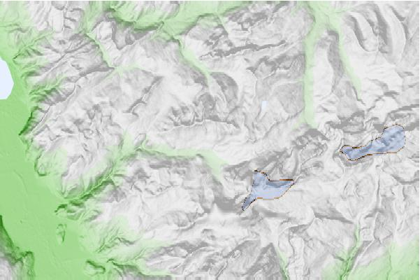 Les Diablerets neighbourhood basemap