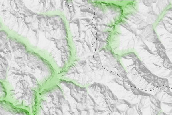 Montgenèvre (Via Lattea) neighbourhood basemap