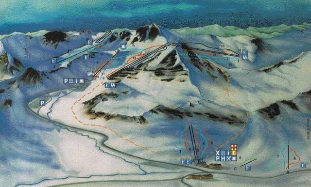 san isidro espanha mapa San Isidro Información del Ski Resort,condiciones de nieve,San  san isidro espanha mapa